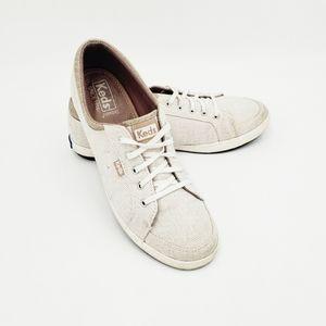 KEDS Cwnter Stripe Sneakers Size 8.5